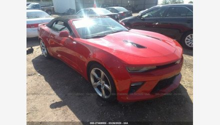 2017 Chevrolet Camaro SS Convertible for sale 101325033