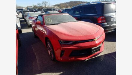 2017 Chevrolet Camaro LT Convertible for sale 101410383