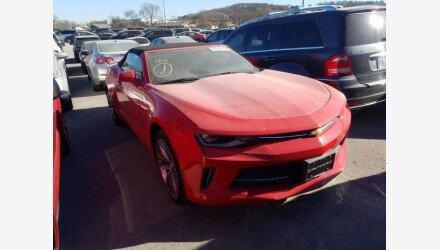 2017 Chevrolet Camaro LT Convertible for sale 101412911