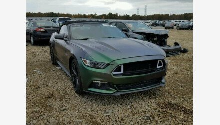 2017 Ford Mustang GT Convertible for sale 101066092