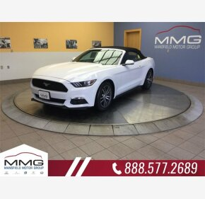 2017 Ford Mustang Convertible for sale 101126789