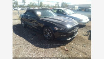 2017 Ford Mustang Convertible for sale 101221529