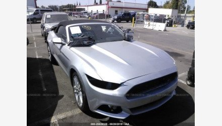 2017 Ford Mustang Convertible for sale 101235986