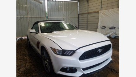 2017 Ford Mustang Convertible for sale 101339780