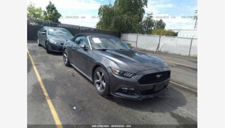 2017 Ford Mustang for sale 101340557