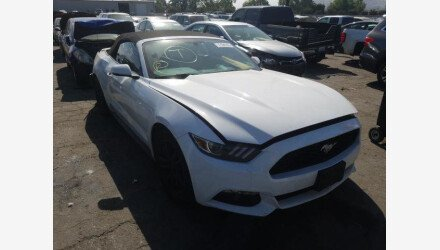 2017 Ford Mustang Convertible for sale 101351934