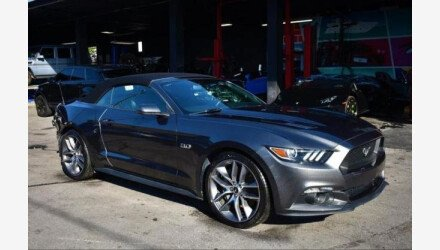 2017 Ford Mustang GT Convertible for sale 101396876