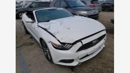 2017 Ford Mustang Convertible for sale 101441265