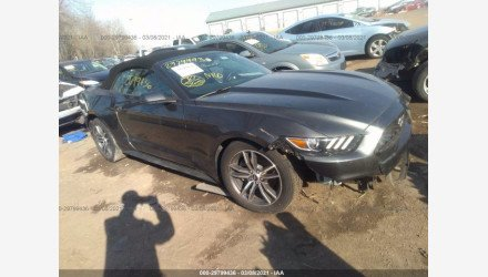 2017 Ford Mustang Convertible for sale 101493530