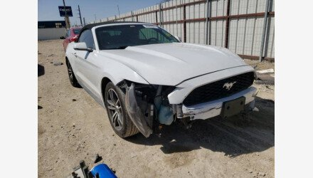 2017 Ford Mustang Convertible for sale 101497507