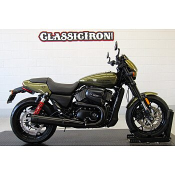 2017 Harley-Davidson Street 750 for sale 200615599