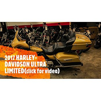2017 Harley-Davidson Touring Ultra Limited for sale 201040878
