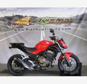 2017 Honda CB500F ABS for sale 200657904