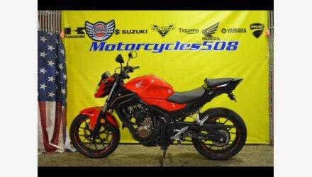 2017 Honda CB500F for sale 200817478