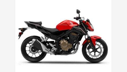 2017 Honda CB500F for sale 200911535