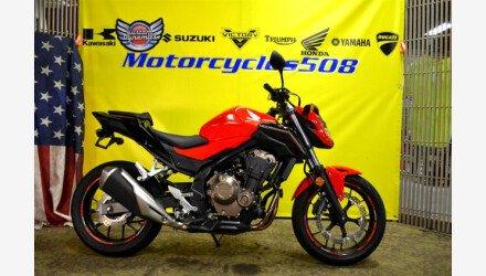 2017 Honda CB500F for sale 200917899