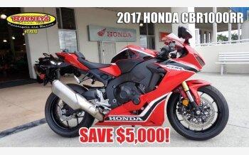2017 Honda CBR1000RR for sale 200600390