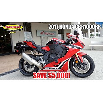 2017 Honda CBR1000RR for sale 200600390