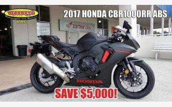 2017 Honda CBR1000RR for sale 200600401