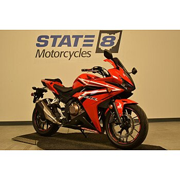 2017 Honda CBR500R for sale 200671109
