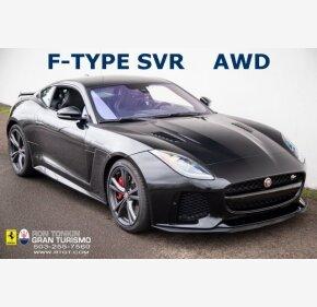 2017 Jaguar F-TYPE SVR Coupe for sale 101275409