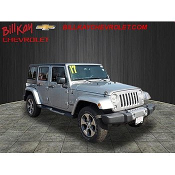 2017 Jeep Wrangler 4WD Unlimited Sahara for sale 101092785