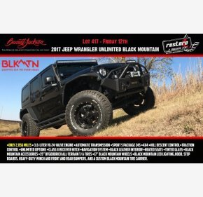 2017 Jeep Wrangler 4WD Unlimited Sport for sale 100985785