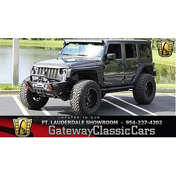 2017 Jeep Wrangler 4WD Unlimited Sport for sale 101023658