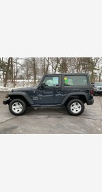 2017 Jeep Wrangler 4WD Sport for sale 101102871