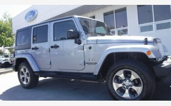 2017 Jeep Wrangler 4WD Unlimited Sahara for sale 101176367