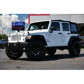 2017 Jeep Wrangler 4WD Unlimited Sport for sale 101198372