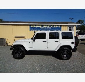 2017 Jeep Wrangler 4WD Unlimited Rubicon for sale 101204824