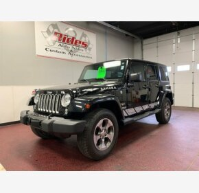 2017 Jeep Wrangler 4WD Unlimited Sahara for sale 101231298