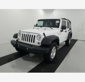 2017 Jeep Wrangler 4WD Unlimited Sport for sale 101238154