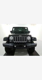 2017 Jeep Wrangler 4WD Sahara for sale 101238218