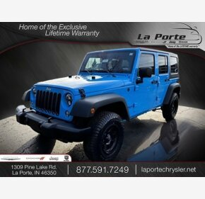 2017 Jeep Wrangler 4WD Unlimited Sport for sale 101247134