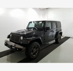 2017 Jeep Wrangler 4WD Unlimited Sahara for sale 101280589