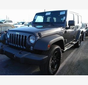 2017 Jeep Wrangler 4WD Unlimited Sport for sale 101286448