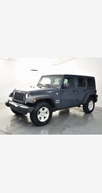 2017 Jeep Wrangler 4WD Unlimited Sport for sale 101303371