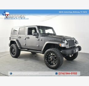 2017 Jeep Wrangler 4WD Unlimited Sahara for sale 101325794