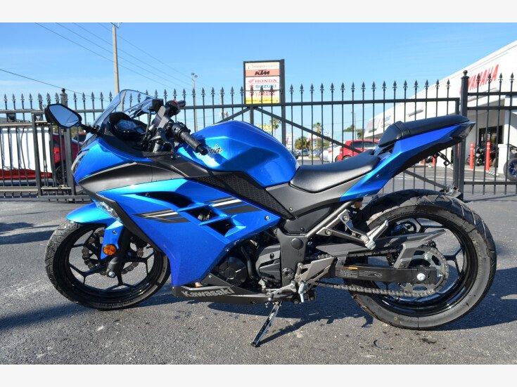 2017 Kawasaki Ninja 300 For Sale Near Kissimmee Florida 34744