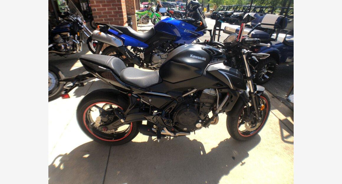 2017 Kawasaki Z650 ABS for sale 200553262
