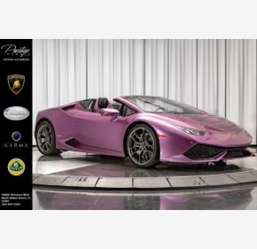 2017 Lamborghini Huracan LP 610-4 Spyder for sale 101210031