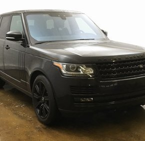 2017 Land Rover Range Rover for sale 101069507