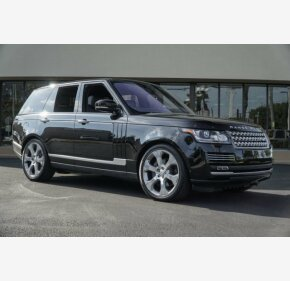 2017 Land Rover Range Rover for sale 101084568