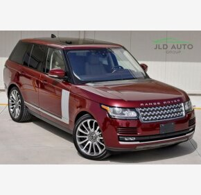 2017 Land Rover Range Rover for sale 101344991