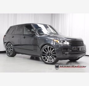 2017 Land Rover Range Rover Supercharged for sale 101409511