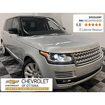 2017 Land Rover Range Rover for sale 101417419