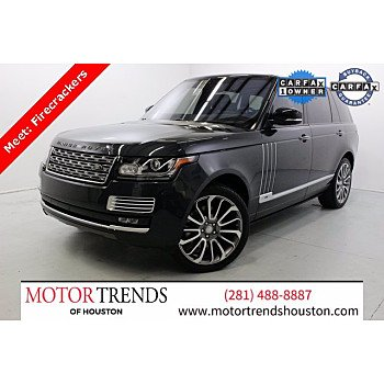 2017 Land Rover Range Rover for sale 101440879