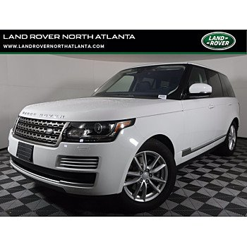 2017 Land Rover Range Rover for sale 101455048